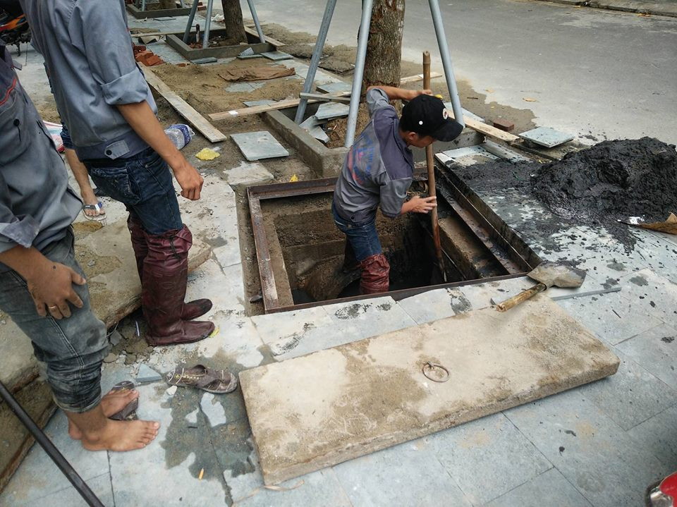 Dịch vụ nạo vắt kênh mương cống rảnh tại Đà Nẵng