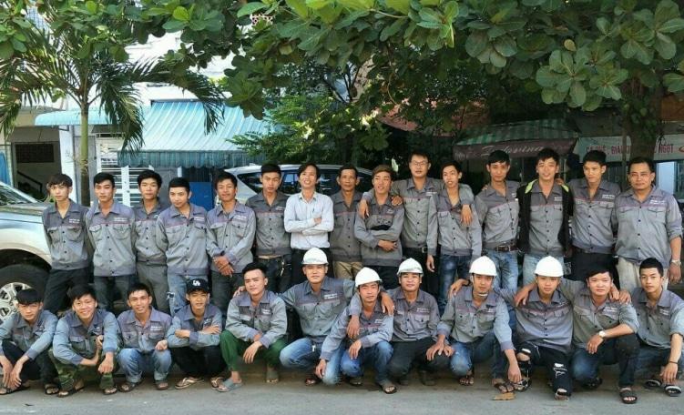 Hình ảnh đội ngũ nhân viên Minh Khánh Trung