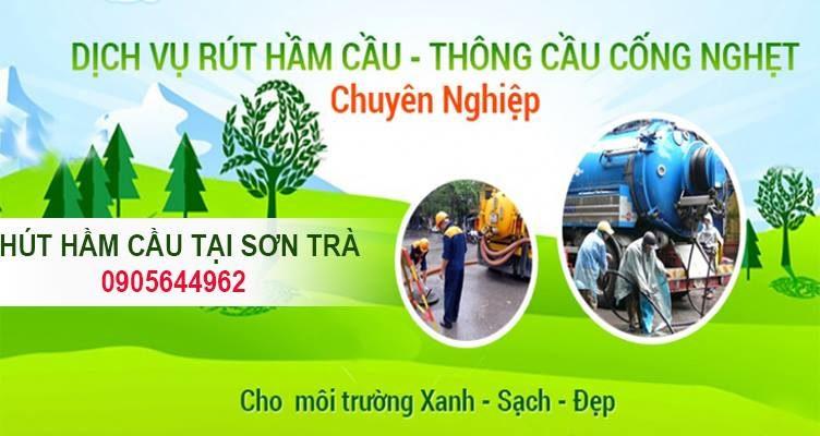 Hút hầm cầu tại Sơn Trà Đà Nẵng