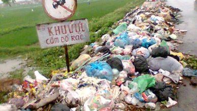 tác hại việc xả rác bừa bãi