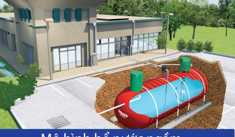 Mô hình bể nước ngầm