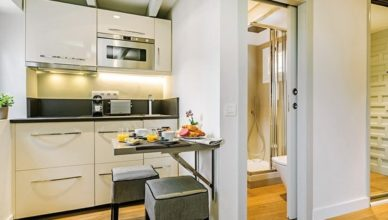 Thế kế nhà bếp và nhà vệ sinh