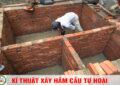 Cách xây hầm cầu tự hoại