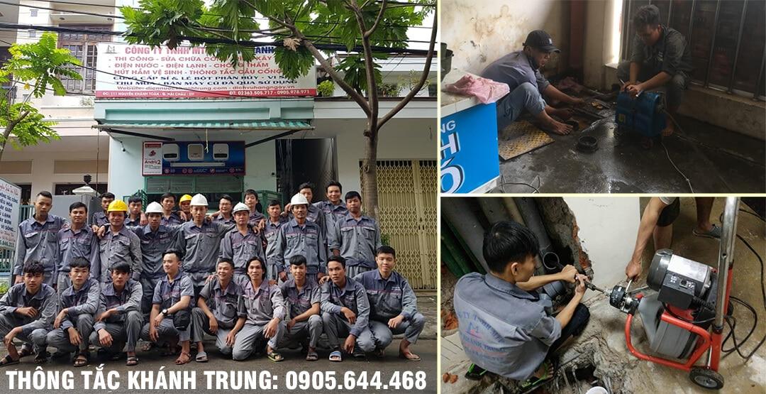 Công ty dịch vụ thông tắc Khánh Trung